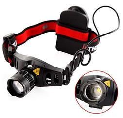 1 Set 800 Lumen 3W 4 Mode Q5 LEDs Headlamp Ultra Xtreme Wate