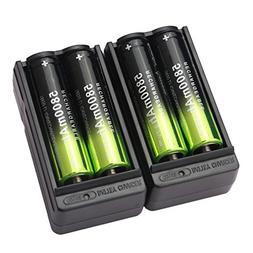 18650 battery li ion rechargeable