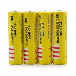 4Pcs 3.7V E-shinre 18650 5000mah Rechargeable Lithium Batter