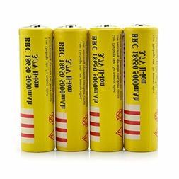 4Pcs 3.7V E-shinre 18650 5000mah Rechargeable Lithium Batter