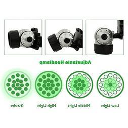 Alician 19 LED High Intensity Green Head Light Hydroponics H