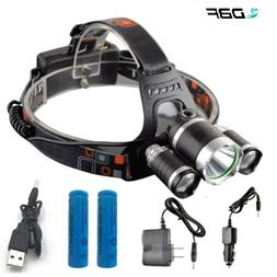 1Set T6 R5 LED <font><b>Headlamp</b></font> 13000LM 4 Mode