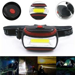 2.1oz Adjustable Headband Torch Light AAA Headlight 3 Modes