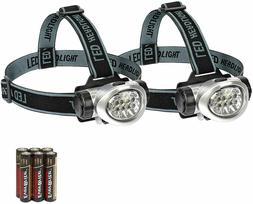 EverBrite 2-Pack Headlamp Flashlight