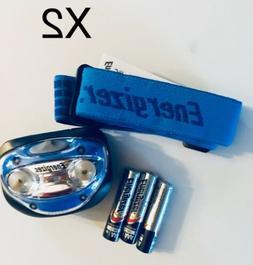 2 Packs Energizer Vision 100 Lumens HDA32E LED Headlight Han