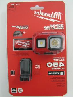 Milwaukee 2104 Spot/Flood Headlamp New FAST SHIPPING