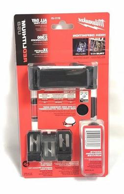 Milwaukee 2111-21 USB Rechargeable Hard Hat Headlamp Light L