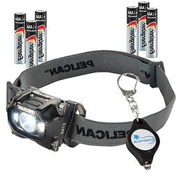 Pelican 2760 LED Headlamp 289 Lumens up to 11 hr Run Time Wa