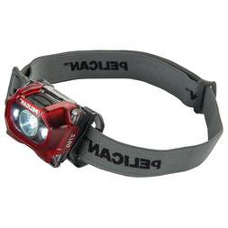 Pelican 2760C 204 Lumen Headlamp, Red, 027600-0102-170