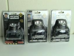 3 Lot Swivel Head Lamp Lens Security Safety Lights Bicycling