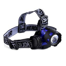 1 Pack 2000 Lumen 5W 3 Mode XML T6 LED Headlamp Ultra Xtreme