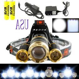 30000 Lumens LED Headlamp Headligh Waterproof Super Bright 1