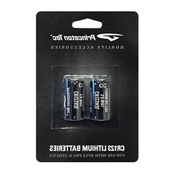 Princeton Tec 354046 Cr123 Lithium Batteries - 2 Pack