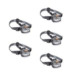 EVERBRITE 5PACK 3AAA 3 LED Headlight