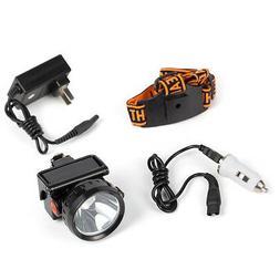 3W LED Headlamp Head Lamp Outdoor Miner Mining Camping Hunti