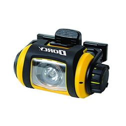 Dorcy Pro Series 200-Lumen Water Resistant LED Headlight wit