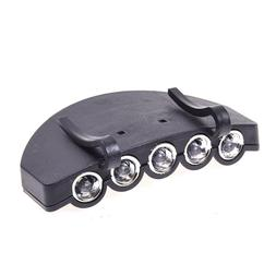 5 LED Head Cap Hat Clip Light Lamp <font><b>Flashlight</b></