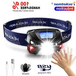 7000Lm Powerfull <font><b>Headlamp</b></font> <font><b>Recha