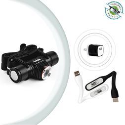 Nebo 7001 Rechargeable 1000 Lumen LED Headlamp and Flashligh