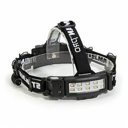 J S Products 78854 Slim Profile Rechargeable Headlamp
