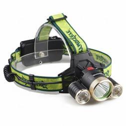 Skywolfeye 80000LM 3x T6 Super Bright Headlight Lamp 4-Mode