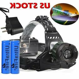 990000LM Zoomable T6 LED Headlamp Headlight Head Lamp Torch