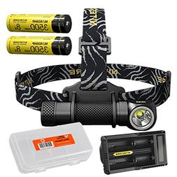 Premium Bundle: NITECORE HC33 1800 Lumen High Performance Ve