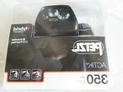 Petzl Actik 350 Lumens Headlamp. AAA Or Core Battery
