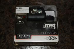 Petzl ACTIK Core 450 Lumens Headlamp Black **NEW** E1