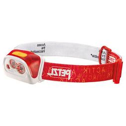 Petzl Actik Core DIY Rechargeable Headlamp Red