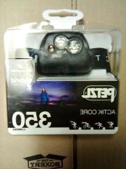 PETZL ACTIK CORE Headlamp 350 Lumens Rechargeable CORE Batte