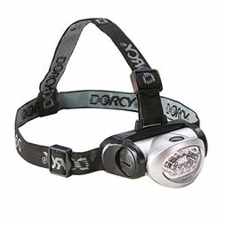 Dorcy 8-LED Adjustable LED Headlight Flashlight with Blinkin