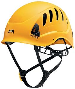 Petzl - ALVEO VENT, Ventilated Helmet for Rescue Work, Yello