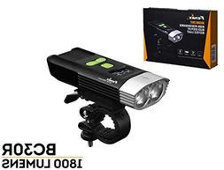 Fenix BC30R 2017 edition 1800 Lumens LED bike light, OLED di