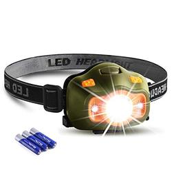 Besti Led Headlamp Flashlights -200 Lumens,2.2oz Lightweight