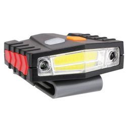 Bright COB LED Headlamp & Cap Lamp Rechargeable Sensor Emerg