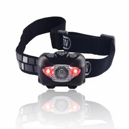 Brightest & Best Headlamp Flashlight, waterproof - V800 by V