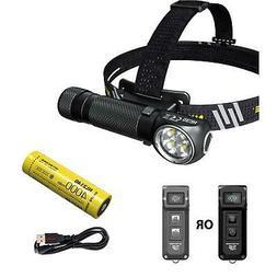 Bundle: Nitecore HC35 Rechargeable Headlamp w/21700 Battery