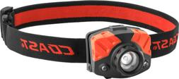 COAST 405 Lumen Dual Color Pure Beam Focusing Headlamp