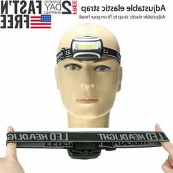 cob led headlamp aaa headlight 3 modes