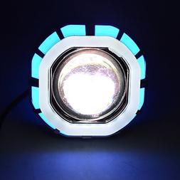 Amyove 12V-85V Fashion Cool Double Aperture LED Headlamp Int