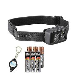 Black Diamond Cosmo Headlamp for Camping and Hiking Includes
