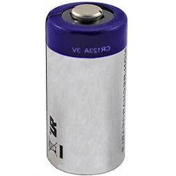 CR123 Lithium Photo Battery - 3 Volt, 1300 mAh