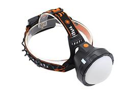 Genwiss Led Rechargeable Bright Headlamp, XML-T6 3000lm 90 D