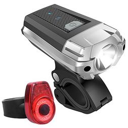 BESTSUN Bike Light Set, Powerful Lumens LED Bicycle Headligh