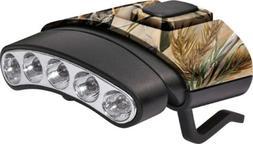 Cyclops CYC-HCDT-WGRT Tilt White/Green LED Hat Clip Light, C