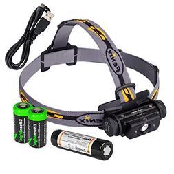 Fenix HL60R 950 Lumen USB rechargeable CREE XM-L2 T6 LED Hea