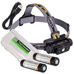 EdisonBright Fenix HL60R 950 Lumen USB rechargeable CREE LED
