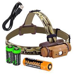 Fenix HL60R 950 Lumen USB rechargeable CREE LED Headlamp , F
