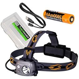 Fenix HP25R 1000 Lumen USB rechargeable CREE LED Headlamp ,